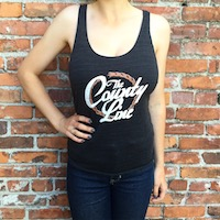Women's Dark Grey Tank